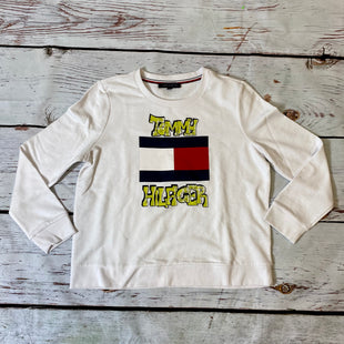 Primary Photo - BRAND: TOMMY HILFIGER STYLE: ATHLETIC TOP COLOR: WHITE SIZE: XL OTHER INFO: GREEN TOMMY HILFIGER PRINT SKU: 217-217193-707