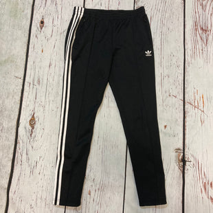 Primary Photo - BRAND: ADIDAS STYLE: ATHLETIC PANTS COLOR: BLACK WHITE SIZE: S SKU: 217-217182-9902