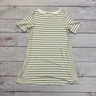 Primary Photo - BRAND: LOU AND GREY STYLE: DRESS SHORT SLEEVELE COLOR: STRIPED SIZE: M OTHER INFO: OLIVE/CREAM SKU: 257-257183-2507
