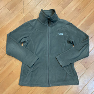 Primary Photo - BRAND: NORTHFACE STYLE: JACKET OUTDOOR COLOR: OFF WHITE SIZE: M OTHER INFO: GREY SKU: 217-217104-24205