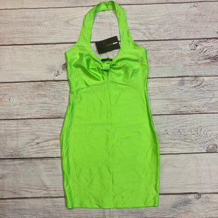 Primary Photo - BRAND: FASHION NOVA STYLE: DRESS SHORT SLEEVELESS COLOR: LIME GREEN SIZE: M OTHER INFO: NEW! SKU: 217-217182-8205