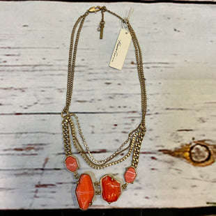Primary Photo - BRAND: KENNETH COLE STYLE: NECKLACE COLOR: CORAL OTHER INFO: NEW! GOLD LAYERS SKU: 217-217104-39419