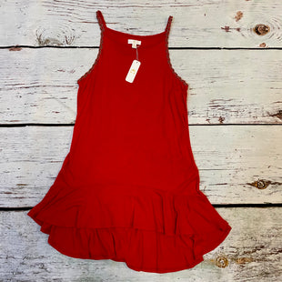 Primary Photo - BRAND: C WONDER STYLE: TOP SLEEVELESS COLOR: RED SIZE: S OTHER INFO: NWT SKU: 217-217144-9778