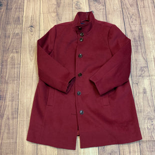 Primary Photo - BRAND: LANDS END STYLE: COAT LONG COLOR: BURGUNDY SIZE: 1X OTHER INFO: 20 SKU: 217-217104-34244