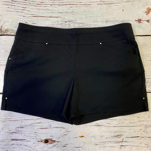 Primary Photo - BRAND: INC STYLE: SHORTS COLOR: BLACK SIZE: 18 OTHER INFO: NEW! SKU: 217-217104-38458