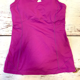 Primary Photo - BRAND: LULULEMON STYLE: ATHLETIC TANK TOP COLOR: MAGENTA SIZE: 6 SKU: 217-217196-429