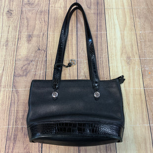 Primary Photo - BRAND: BRIGHTON STYLE: HANDBAG DESIGNER COLOR: BLACK SIZE: MEDIUM OTHER INFO: SILVER HEART SKU: 257-257183-1955