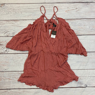 Primary Photo - BRAND: TOP SHOP STYLE: DRESS SHORT SHORT SLEEVE COLOR: DUSTY PINK SIZE: L OTHER INFO: ROMPER SKU: 257-25774-13471
