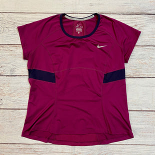 Primary Photo - BRAND: NIKE STYLE: ATHLETIC TOP COLOR: MAROON SIZE: XL SKU: 217-217144-9582