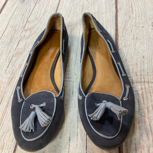 Photo #1 - BRAND: COACH STYLE: SHOES FLATS COLOR: NAVY SIZE: 7.5 SKU: 217-217167-1426