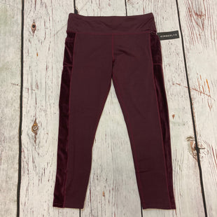 Primary Photo - BRAND:   KIMBERLYSTYLE: ATHLETIC PANTS COLOR: BURGUNDY SIZE: XL OTHER INFO: KIMBERLY - SKU: 217-217182-10066