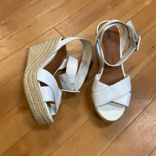Primary Photo - BRAND: GAP STYLE: SANDALS HIGH COLOR: WHITE SIZE: 9 SKU: 217-217155-1934