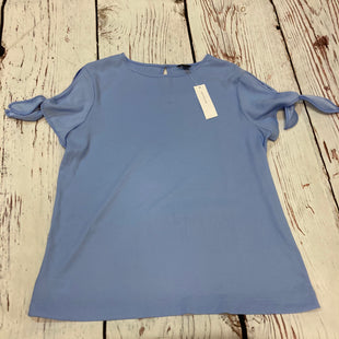 Primary Photo - BRAND: ANN TAYLOR STYLE: TOP SHORT SLEEVE COLOR: BLUE SIZE: L OTHER INFO: NWT $54.50 SKU: 178-178203-197