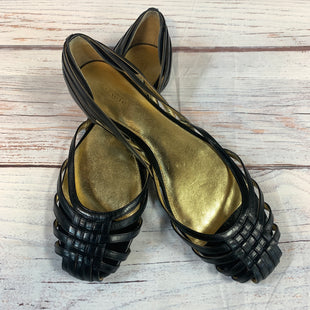 Primary Photo - BRAND: COACH STYLE: SANDALS FLAT COLOR: BLACK SIZE: 9.5 SKU: 217-217144-9121