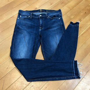 Primary Photo - BRAND: SEVEN FOR ALL MANKIND STYLE: JEANS COLOR: DENIM SIZE: 10 OTHER INFO: 30 / AS IS DISTRESSED SKU: 217-217104-32902