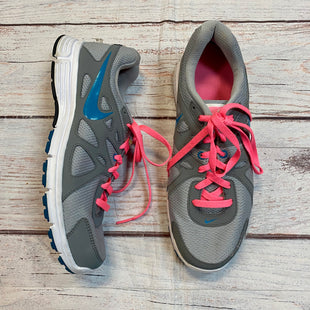 Primary Photo - BRAND: NIKE STYLE: SHOES ATHLETIC COLOR: PINKGRAY SIZE: 11 OTHER INFO: BLUE SWISH SKU: 217-217104-37604