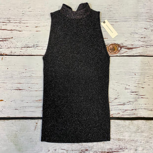 Primary Photo - BRAND: ANTHROPOLOGIE STYLE: TOP SLEEVELESS BASIC COLOR: BLACK SILVER SIZE: XS OTHER INFO: NEW! SKU: 178-178102-55674