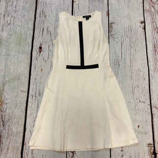 Primary Photo - BRAND: RALPH LAUREN STYLE: DRESS SHORT SLEEVELESS COLOR: WHITE SIZE: 10 SKU: 217-217182-4437