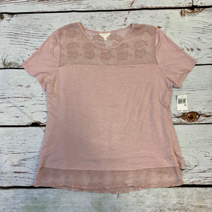 Primary Photo - BRAND: ADIVA STYLE: TOP SHORT SLEEVE COLOR: MAUVE SIZE: XL OTHER INFO: NEW! AS IS SKU: 217-217104-30150