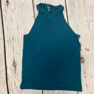 Primary Photo - BRAND: PINK STYLE: ATHLETIC TANK TOP COLOR: TURQUOISE SIZE: S SKU: 217-217155-4908