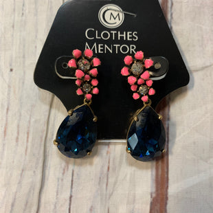 Primary Photo - BRAND: J CREW STYLE: EARRINGS COLOR: NAVY OTHER INFO: NAVY, PINK SKU: 217-217182-1050