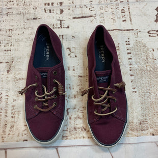 Primary Photo - BRAND: SPERRY STYLE: SHOES ATHLETIC COLOR: MAROON SIZE: 8 SKU: 217-217193-42