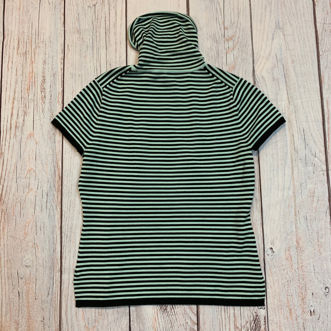 Photo #3 - BRAND: CARLISLE <BR>STYLE: TOP SHORT SLEEVE BASIC <BR>COLOR: STRIPED <BR>SIZE: M <BR>SKU: 217-217144-2540