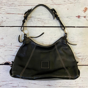 Primary Photo - BRAND: DOONEY AND BOURKE STYLE: HANDBAG DESIGNER COLOR: BLACK SIZE: MEDIUM OTHER INFO: AS IS SKU: 217-217104-37256