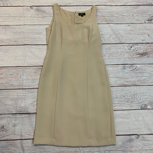 Primary Photo - BRAND: TAHARI STYLE: DRESS SHORT SLEEVELESS COLOR: BEIGE SIZE: S OTHER INFO: NEW! SKU: 217-217182-7433