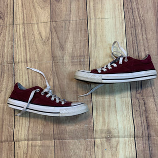 Primary Photo - BRAND: CONVERSE STYLE: SHOES ATHLETIC COLOR: BURGUNDY SIZE: 7 SKU: 217-217182-6339