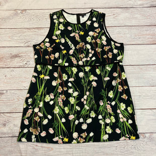 Primary Photo - BRAND: VICTORIA BECKHAMSTYLE: TOP SLEEVELESS COLOR: FLORAL SIZE: 3X OTHER INFO: VICTORIA BECKHAM - NAVY/GRN/WHT/PINK TULIPSM SKU: 217-217144-9516