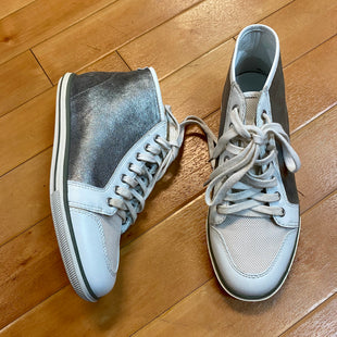 Primary Photo - BRAND: ELIE TAHARI STYLE: SHOES ATHLETIC COLOR: SILVER SIZE: 6.5 OTHER INFO: HIGH TOP SKU: 217-217104-31115