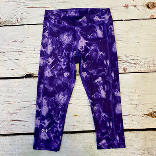 Primary Photo - BRAND: UNDER ARMOUR STYLE: ATHLETIC CAPRIS COLOR: PURPLE SIZE: S SKU: 217-217182-9142