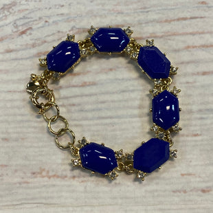 Primary Photo - BRAND: J CREW STYLE: BRACELET COLOR: BLUE OTHER INFO: GOLD SKU: 217-217153-8317