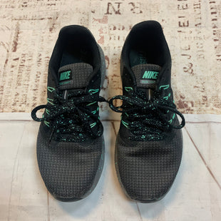Primary Photo - BRAND: NIKE STYLE: SHOES ATHLETIC COLOR: GREY SIZE: 6.5 OTHER INFO: GREEN BLACK SKU: 217-217193-76