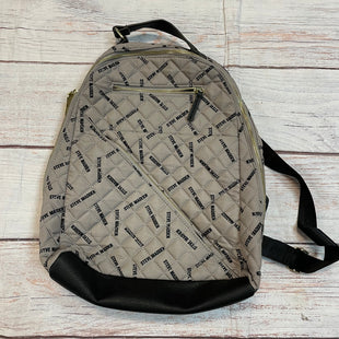Primary Photo - BRAND: STEVE MADDEN STYLE: BACKPACK COLOR: TAUPE SIZE: LARGE OTHER INFO: BLACK LOGO SKU: 217-217104-37872