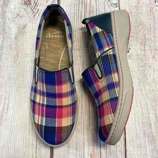 Primary Photo - BRAND: DANSKO STYLE: SHOES FLATS COLOR: PLAID SIZE: 10 OTHER INFO: PINK/ BLUE/ TAN SKU: 178-178199-1936