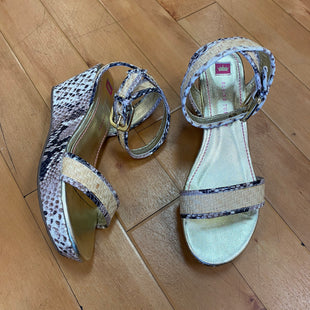 Photo #1 - BRAND:  ELAINE TURNERSTYLE: SANDALS HIGH COLOR: GOLD OTHER INFO: ELAINE TURNER - SKU: 217-217154-2275