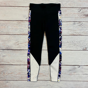 Primary Photo - BRAND: GAPFIT STYLE: ATHLETIC CAPRIS COLOR: BLACK SIZE: S OTHER INFO: PURPLE WHITE SIDE STRIPE SKU: 217-217193-113