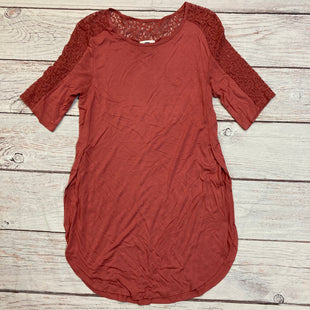 Primary Photo - BRAND: OLD NAVY STYLE: DRESS SHORT LONG SLEEVE COLOR: CORAL SIZE: M SKU: 257-25786-5509