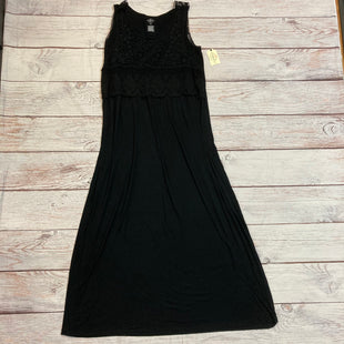 Primary Photo - BRAND: ST JOHNS BAY STYLE: DRESS LONG SLEEVELESS COLOR: BLACK SIZE: 1X SKU: 217-217144-4691