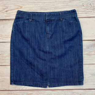 Primary Photo - BRAND: OLD NAVY STYLE: SKIRT COLOR: DENIM SIZE: 8 SKU: 217-217182-5556