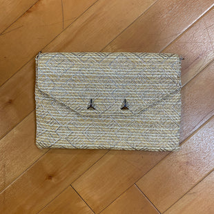 Primary Photo - BRAND: STELLA AND DOT STYLE: CLUTCH COLOR: STRAW SIZE: MEDIUM OTHER INFO: SILVER CHAIN MISSING SKU: 217-217111-7434
