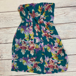 Primary Photo - BRAND: EXPRESS STYLE: DRESS SHORT SLEEVELE COLOR: FLORAL SIZE: M OTHER INFO: PURPLE FLORALS ON BL SKU: 257-257194-274