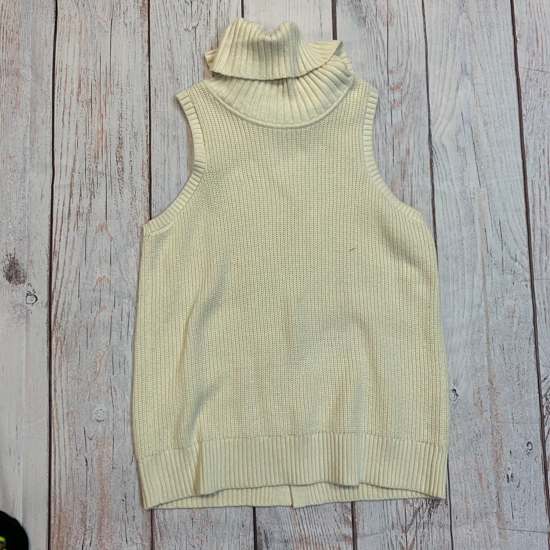 Primary Photo - BRAND: BANANA REPUBLIC <BR>STYLE: SWEATER HEAVYWEIGHT <BR>COLOR: CREAM <BR>SIZE: L <BR>OTHER INFO: NEW! $54.99 <BR>SKU: 217-217182-2487