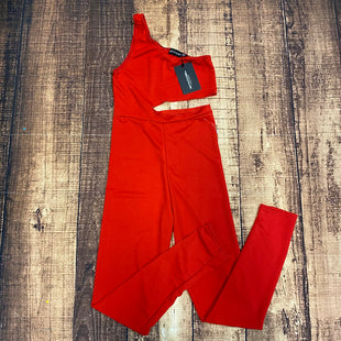 Primary Photo - BRAND:    PRETTYLITTLETHINGSTYLE: DRESS LONG SLEEVELESS COLOR: RED SIZE: S OTHER INFO: PRETTYLITTLETHING - NEW! SKU: 217-217182-5407