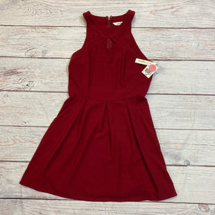 Primary Photo - BRAND: SPEECHLESS STYLE: DRESS SHORT SLEEVELE COLOR: RED SIZE: L OTHER INFO: NEW! SKU: 257-25748-2908