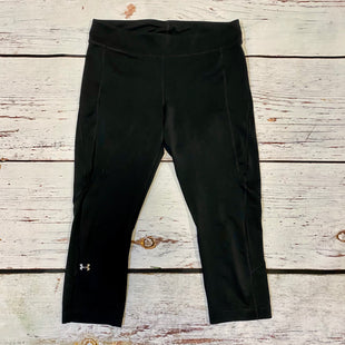 Primary Photo - BRAND: UNDER ARMOUR STYLE: ATHLETIC CAPRIS COLOR: BLACK SIZE: M SKU: 217-217196-834