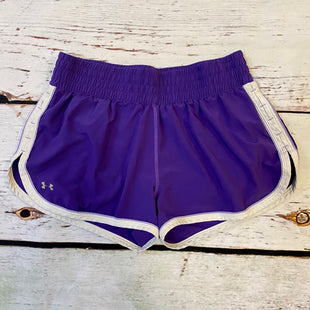 Primary Photo - BRAND: UNDER ARMOUR STYLE: ATHLETIC SHORTS COLOR: PURPLE SIZE: M SKU: 217-217153-8636
