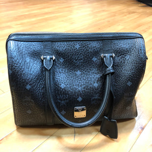 Primary Photo - BRAND: MCM STYLE: HANDBAG DESIGNER COLOR: BLACK SIZE: MEDIUM OTHER INFO: ESSENTIAL BOSTON SKU: 217-217144-8549